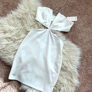 Tobi White Cut Out Dress